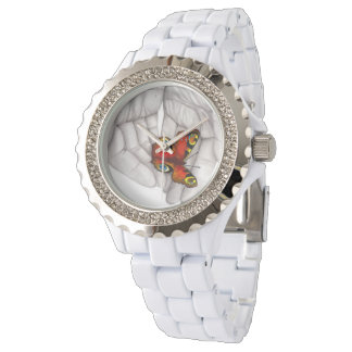 Relógio de pulso borboleta, Watch Butterfly/