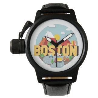 Relógio De Pulso Boston como um destino