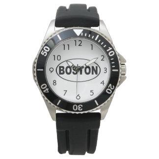 Relógio De Pulso Boston Massachusetts