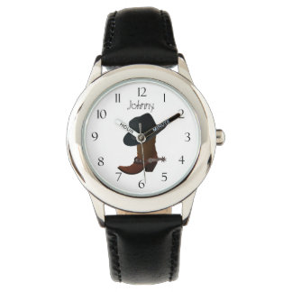 Relógio De Pulso Bota e chapéu de vaqueiro