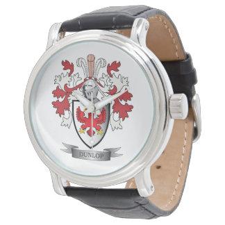 Relógio De Pulso Brasão da crista da família de Dunlop