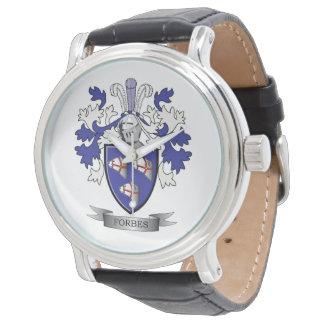Relógio De Pulso Brasão da crista da família de Forbes