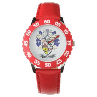 Relógio De Pulso Brasão da crista da família de McLain