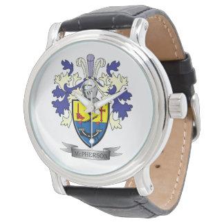 Relógio De Pulso Brasão da crista da família de McPherson