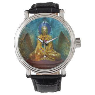 Relógio De Pulso Buddha na alcova ornamentado