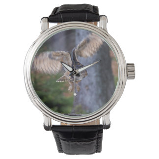 Relógio De Pulso Caça da coruja de Eagle