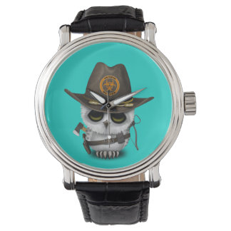Relógio De Pulso Caçador do zombi da coruja do bebê