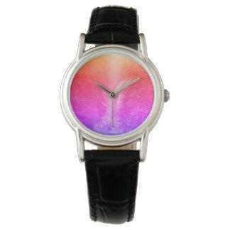 "Relógio De Pulso ""Cachoeira tranquilo brilhante vibrante """