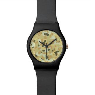 Relógio De Pulso Camuflagem disruptiva do deserto