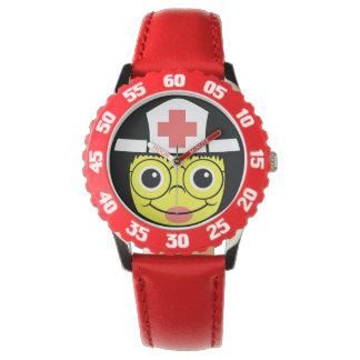 Relógio De Pulso Cara da enfermeira
