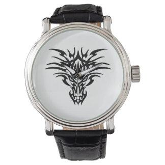 Relógio De Pulso Cara-Dragão-Tatuagem