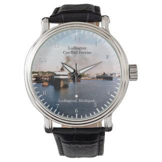 Relógio De Pulso Carro de Ludington/relógio balsas do trilho