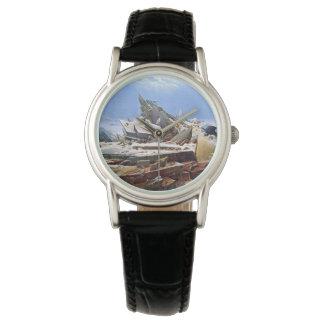 Relógio De Pulso CASPAR DAVID FRIEDRICH - o mar do gelo 1824