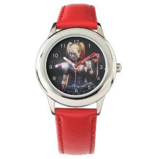 Relógio De Pulso Cavaleiro de Batman Arkham | Harley Quinn com