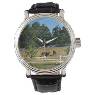 Relógio De Pulso Cavalos