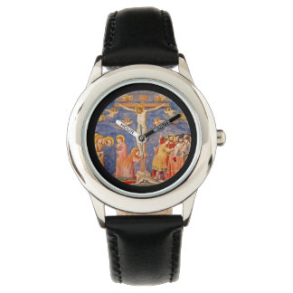 Relógio De Pulso Cena medieval da Sexta-feira Santa