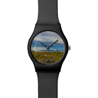 Relógio De Pulso Cena Patagonian da paisagem, Santa Cruz, Argentina