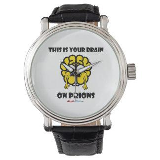 Relógio De Pulso Cérebro em prião