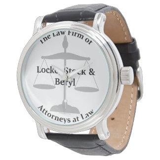 Relógio De Pulso Chalaças da empresa de advocacia
