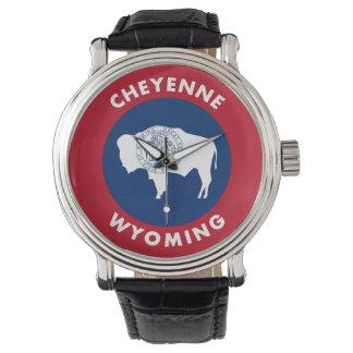 Relógio De Pulso Cheyenne Wyoming