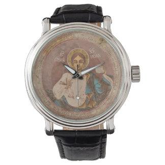 Relógio De Pulso chri ortodoxo de jesus do deus da religião da