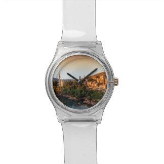 Relógio De Pulso Cidade, Bósnia e Herzegovina velhas de Mostar