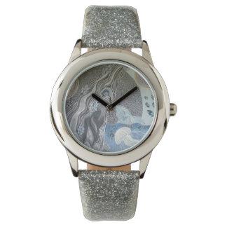 Relógio De Pulso Cinza da baleia