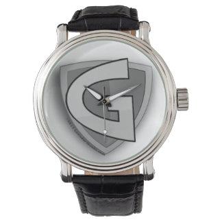 Relógio de pulso cinzento do homem