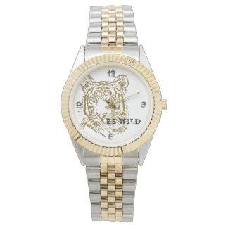 Relógio De Pulso Classic tigre Watch