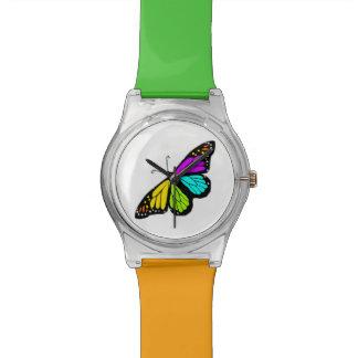 Relogio De Pulso Clipart colorido da borboleta