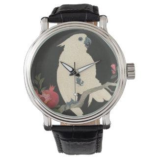 Relógio De Pulso Cockatoo japonês das belas artes | do vintage
