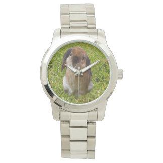 Relógio De Pulso Coelho de coelho da orelha do Lop,