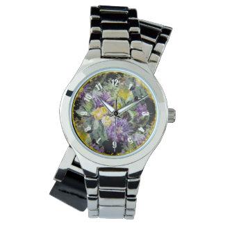 Relógio De Pulso Coleção da aderência do tiquetaque,