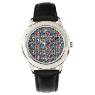 Relógio De Pulso Coleção da faísca das pedras preciosas das jóias