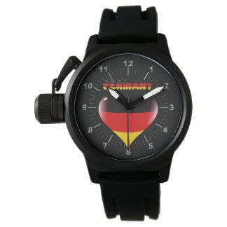 Relógio De Pulso Coração alemão