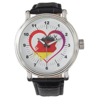 Relógio De Pulso Coração de Alemanha