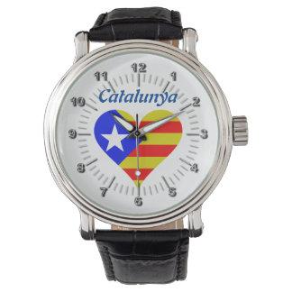 Relógio De Pulso Coração de Catalunya