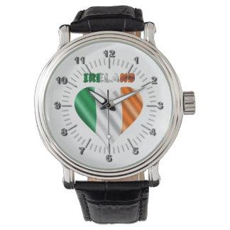 Relógio De Pulso Coração irlandês