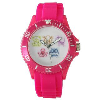 Relógio De Pulso Cores animais