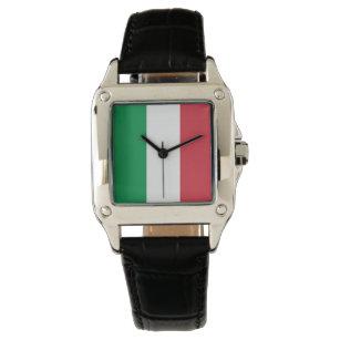 8437f6c43d Relógio De Pulso Cores da bandeira de Italia