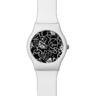 Relógio De Pulso Crânios dos grafites