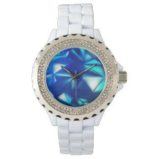 Relógio De Pulso Cristal azul