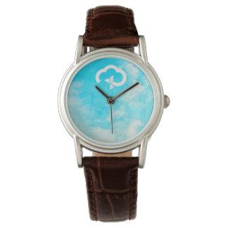Relógio De Pulso Cruz & nuvem cristãs da vida eterna