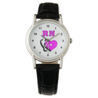 Relógio De Pulso Cuidado do RN da enfermeira