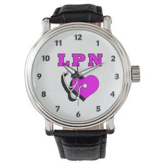 Relógio De Pulso Cuidados do RN LPN das enfermeiras