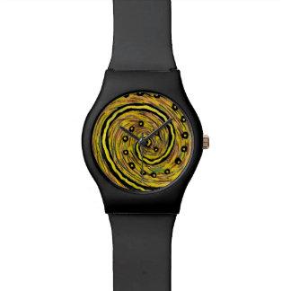 Relógio de pulso customizável abstrato Funky