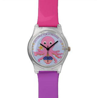 Relógio de pulso customizável OFAP das cores -