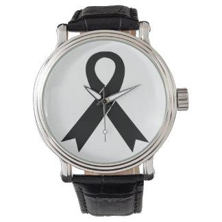 Relógio de pulso da consciência da melanoma