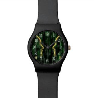 Relógio de pulso da matriz