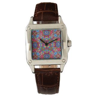 Relógio De Pulso Das mulheres coloridas do vintage do mineiro de
